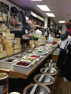 The Italian Market section is aptly named because of places like the original Di Bruno Bros. cheese shop in Philadelphia, PA.  Every type of cheese, olive, pepper, and cold cut can be bought for the ultimate antipasto.