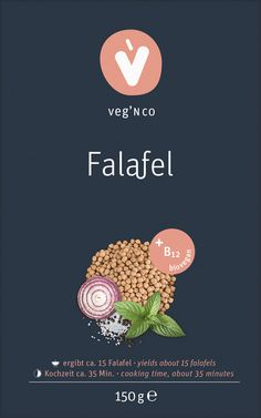 Biovegane Lebensmittel mit Gentechnik-freiem, naturbelassenem Vitamin B12 Falafel, Vitamin B12, Cooking Time, Microorganisms, Lunch Bags, Delicious Snacks, Landing Pages, Foods, Falafels