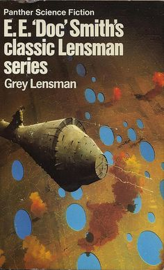 Lensman Series - LOVE the cover art - read as a kid..cover art was awesome and I still think so today! Book 4