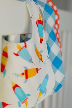 adorable boy-themed baby bibs. retro and cute