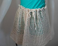Giselle MultiPurpose Wrap. It's a Circle Scarf, Shawl, Shrug, Cowl, Capelet or Bathing Suit Cover Up Skirt Crocheted in Silk Bamboo Yarn -    Edit Listing  - Etsy