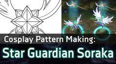 [Cosplay Pattern Vector] Star Guardian Soraka's Staff (New Soraka Skin) - League of Legends - YouTube