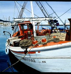 """aegean orange by laurie chase Oil ~ 16"""" x 16""""Medium: Oil on Paper Size: 16"""" x 16""""  Price: $395.00 USD"""