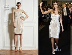Jessica Alba In Zuhair Murad - Social Star Awards 2013