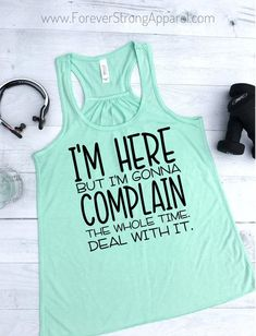 Complain Women Gym Tank Funny Workout Tanks for Women Work Out Tanks for Woman Funny Running Shirt Women Funny Workout Tank Tops - Funny Tank Tops - Ideas of Funny Tank Tops - Funny Running Shirts, Funny Workout Shirts, Running Humor, Funny Shirts Women, Workout Humor, Workout Tank Tops, Workout Gear, Yoga Workouts, Running Gear