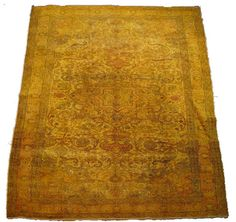 Gold Vintage Kayseri Overdyed Turkish Rug By Bazaarbayar On Etsy 6 X