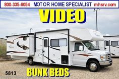 New 2013 Coachmen Freelander  Class C Bunk Model RV for Sale W/2 Slides 32BH For Sale by Motor Home Specialist available in Alvarado, Texas