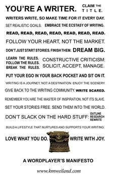 """""""writer's write, so make time for it every day."""" Maybe when my kids are older . I don't think you have to write every day to be a writer. Writing Advice, Writing Help, Writing A Book, Writing Prompts, Writing Humor, Writing Goals, Teaching Writing, Better Writing, Academic Writing"""