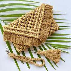 Handmade Macramé Wall Hangings, Plant Hanger, Macrame Supply All locally made in Broome, Western Australia Macrame Purse, Macrame Knots, Macrame Projects, Macrame Supplies, Macrame Wall Hanger, Crochet Clutch, Macrame Design, Macrame Tutorial, Macrame Patterns
