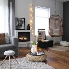 What a cozy living room by @_mirjam_72 ♡