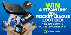 Bundle Stars Giveaways | Steam Link and Rocket League Loot Box #Giveaway | Ends (10/12/2016) https://wn.nr/KkgY6T