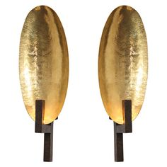 Contemporary Bronze Sconce by Hervé van der Straeten | From a unique collection of antique and modern wall lights and sconces at https://www.1stdibs.com/furniture/lighting/sconces-wall-lights/