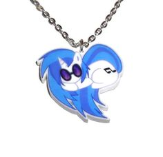 Vinyl Scratch Necklace DJ Pon3 Sleeping by KitschBitchJewellery, $11.99