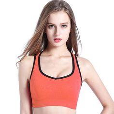 Well-Educated Zipper Design Shoulder Strap High Elastic Quick Dry Anti-vibration Nylon Sports Bra Running Fitness Yoga Tank Tops Underwear Sports Clothing