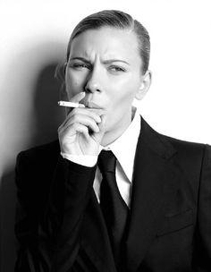Scarlett Johansson Russell James Photoshoot
