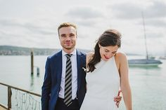 Photo from Antonella & Marco collection by Caroline Dyer-Smith Photography Civil Wedding, Suit Jacket, Breast, Suits, Couples, Couple Photos, Photography, Collection, Fashion