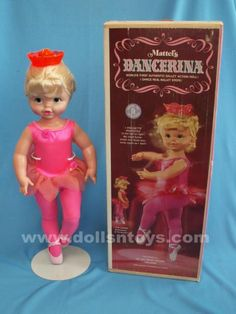 "It came with a colorful punch-out record with excerpts of ""The Nutcracker"" on it to play while Dancerina danced. Childhood Images, My Childhood Memories, Great Memories, Vintage Games, Vintage Dolls, The Last Summer, I Remember When, Old Toys, The Good Old Days"