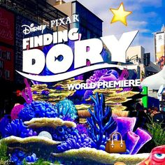 Swim on over to Snapchat (@regalmovies) for #RegalAllAccess coverage at the #redcarpet Premiere of #FindingDory.