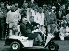 Vintage photo of Prince Bertil go around in a golf cart with his friend Sven Tum Photos Of Prince, Vintage Golf, Go Around, Golf Carts, Vintage Photos, Friends, Amigos, Boyfriends, Vintage Photography