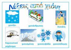 dreamskindergarten Το νηπιαγωγείο που ονειρεύομαι !: Λίστες αναφοράς για το χειμώνα