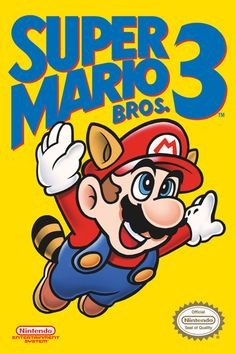 "Super Mario Bros 3 - 24"" x 36"" $9.99"