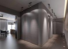 Invisible Doors modern closet