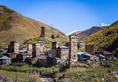 Amazing places to visit in Georgia, the country - Journal of Nomads - Ushguli - Svaneti