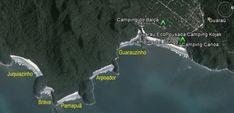 Roteiro pelas Praias da Estação Ecológica de Juréia-Itatins (SP) - FuiAcampar