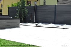 Cloture composite Boréale Anthracite - Océwood®
