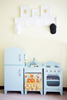 the perfect play kitchen? I'd say so.