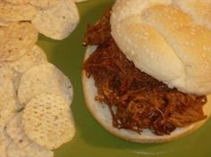 Crock Pot Cola Barbecue Pork Roast: Cook it overnight for weekend sandwiches!  								Makes great barbecue sandwiches! You can use your favorite cola and sauce to vary the tastes. Good to freeze in smaller portions and pull out as needed.