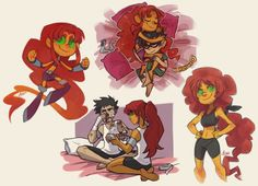 Robin Starfire, Nightwing And Starfire, Teen Titans Love, Original Teen Titans, Teen Titans Fanart, Beast Boy, Disney Marvel, Marvel Dc, Dc Comics