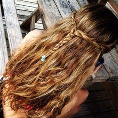 Awesome beach hair