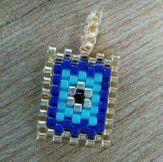 Seed Bead Earrings, Beaded Earrings, Beaded Jewelry, Handmade Jewelry, Beaded Bracelets, Jewelry Shop, Jewelry Making, Evil Eye Jewelry, Peyote Patterns