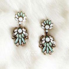 Gorgeous New Statement Earrings New never worn drop earrings Jewelry Earrings