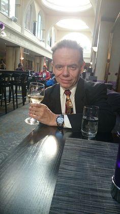 A glass of wine at Sergel Plaza hotel, Stockholm. Celebrating Easter 2014.
