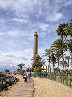 Maspalomas Spain: It's a tourist town in the south of the island of #GranCanaria, Canary Islands and is famous for its six-kilometer sand dune beach and stunning scenery. Before leaving for #Spanish speaking Locales head over to the #Travel page of the My daily Spanish for all the essentials you need: https://mydailyspanish.com/category/spanish-travel/