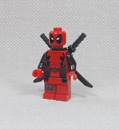 Deadpool - Mini Figure - 1.5  - Marvel Universe A