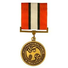 Multinational Force & Observers Medal . $30.50. This is a new Multinational Force & Observers Medal