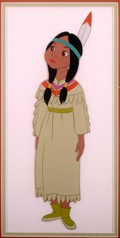 My favorite Disney Princess: Tiger Lily. Regal and brave, she dances to her own drumbeat.