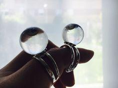 Aesidhe anillo de plata 925 con perla de cultivo rosa