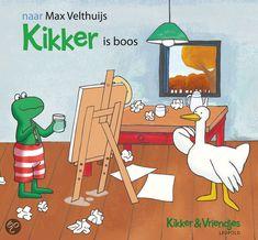 Kikker is boos - naar Max Velthuijs (uitg. Leopold)