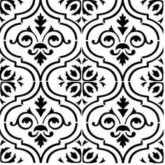 Wall tile stencil cricut stencils, stencil art, stencil patterns, s Stencil Patterns, Stencil Art, Stencil Designs, Cricut Stencils, Bar Design, Tile Design, Glass Design, Wood Burning Tool, Hand Painted Wallpaper
