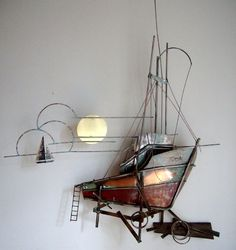 I love metal art & this is spectacular...way too expensive though you can find similar much much cheaper.