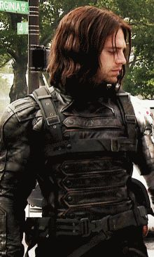 The eyes.  It's all the eyes - his voicelessness is a tribute to the mastery of the character.  Mortifying and beautiful.  #geez Sebastian #bucky