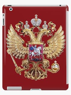 Russian Coat Of Arms by Igor Drondin #ipadcasesskins #russiancoatofarms #coatofarms #imperialeagle #russia #devicecases #cover #iPhone #homemade #art #homedecor #giftidea #giftforhim #gift #gifts #giftideas #merchandise #onlinegift #babygift #giftshop #iPod #holidaypresents #giftsforalloccasions #presents #uniquegifts #personalizedgift #giftforher #giftforhim