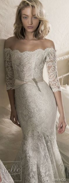 Wedding Dresses by Lihi Hod Fall 2018 Couture Bridal Collection - Vanessa #WeddingDress