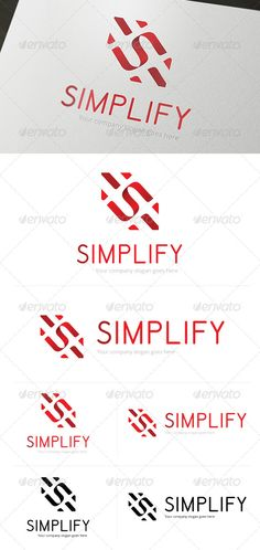 Simplify Logo Template (Letters)
