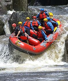 The Wairoa River - white water rafting