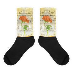Beauty and the Beast Rose Music Page Socks Awesome Socks, Cool Socks, Rose Music, Music Page, Us Man, Artwork Prints, Bold Colors, Beauty And The Beast, Illustration